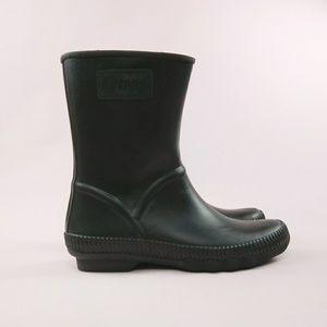 Sperry Saltwater Current Rain Boot Black